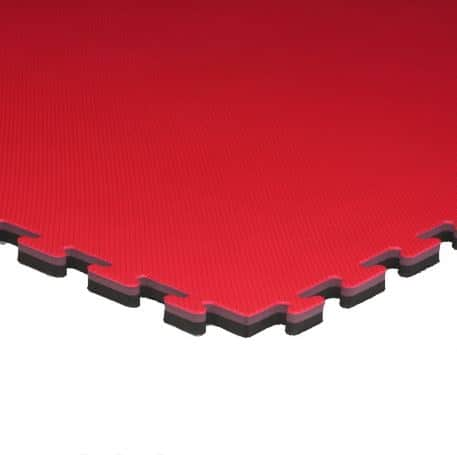 red and black 20mm waffle mats