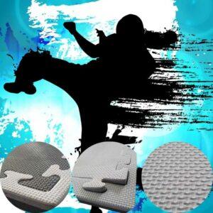 20mm grey black jigsaw mats
