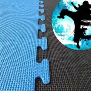 20mm black blue karate mats