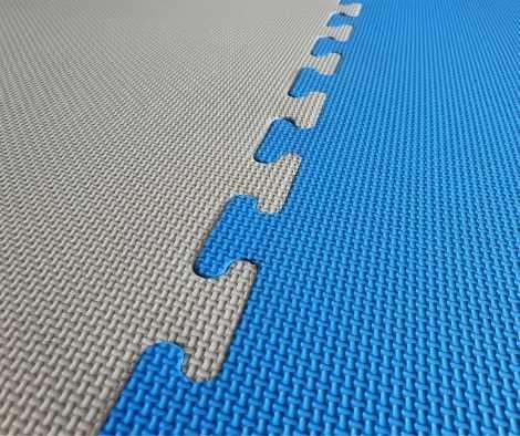Silver Blue 20mm Jigsaw Mats